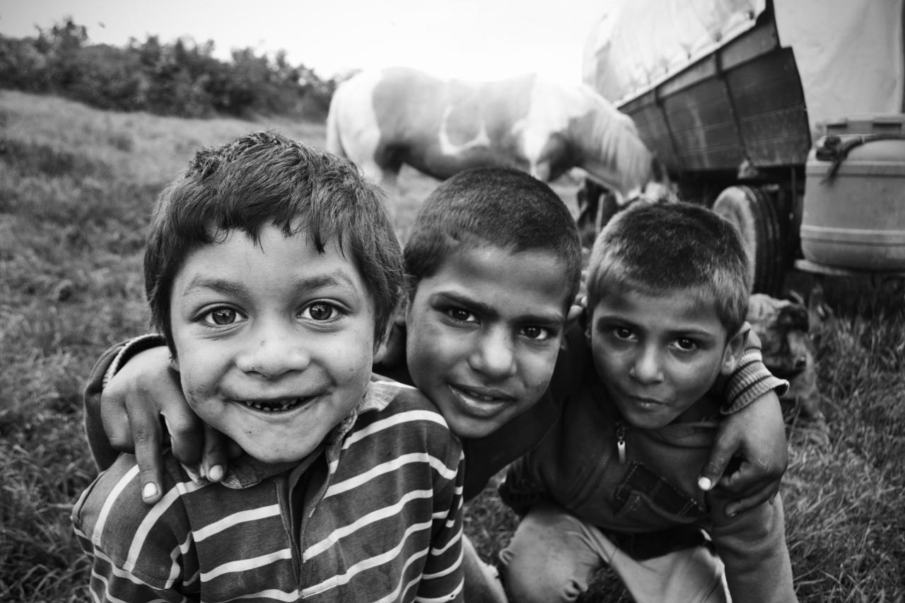 Enfants de Geoagiu (Roumanie)